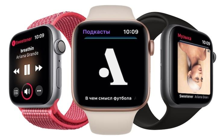 Функции Apple Watch Series