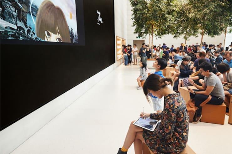 Apple Store в Сингапуре (Сингапур)
