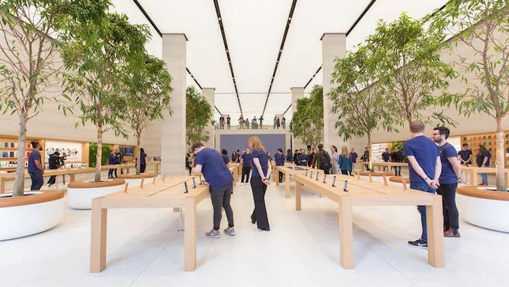 Apple Store в Лондоне (Англия)