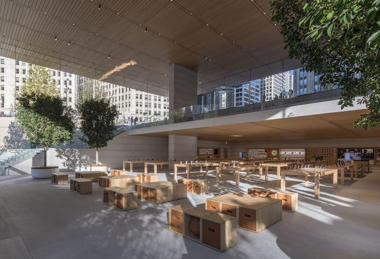 Apple Store в Чикаго (США)