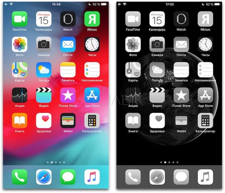 Черно-белый экран на Айфоне: как сделать и зачем это нужно?