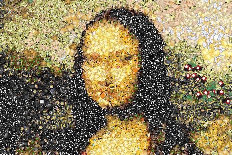 Как превратить любое фото в мозаику из смайликов эмодзи