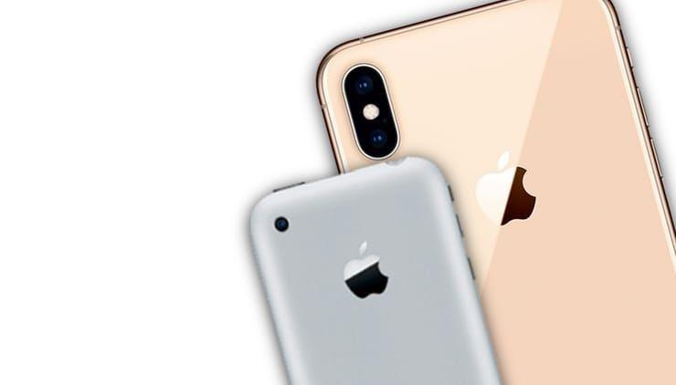 iphone 2g iphone xs