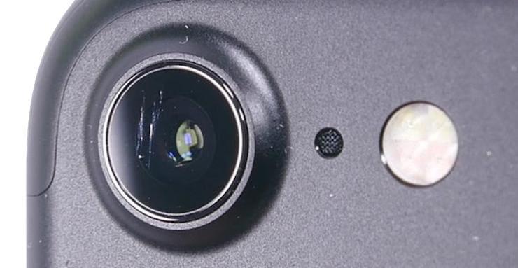 Мутная камера на Айфоне (фронтальная или основная)