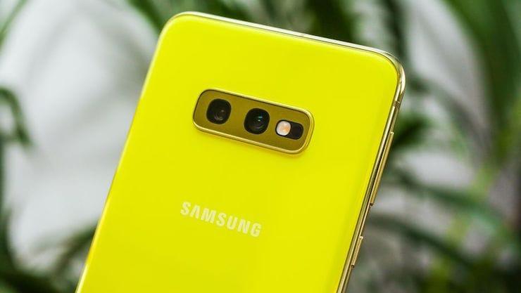 КамерыSamsung Galaxy S10e
