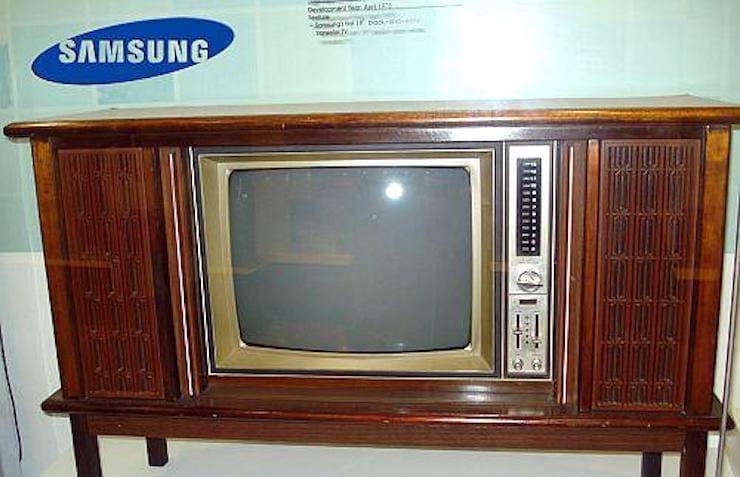 Телевизоры Samsung (1976)