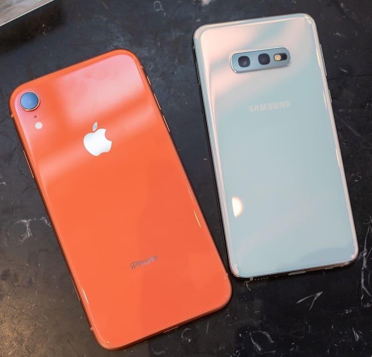 Сравнение Samsung Galaxy S10e и iPhone XR