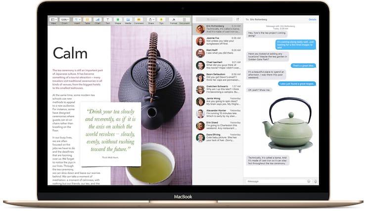 РежимSplit View на Mac
