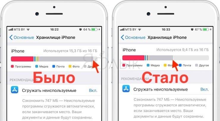 «Другое» в памяти iPhone: откуда берется и как его очистить