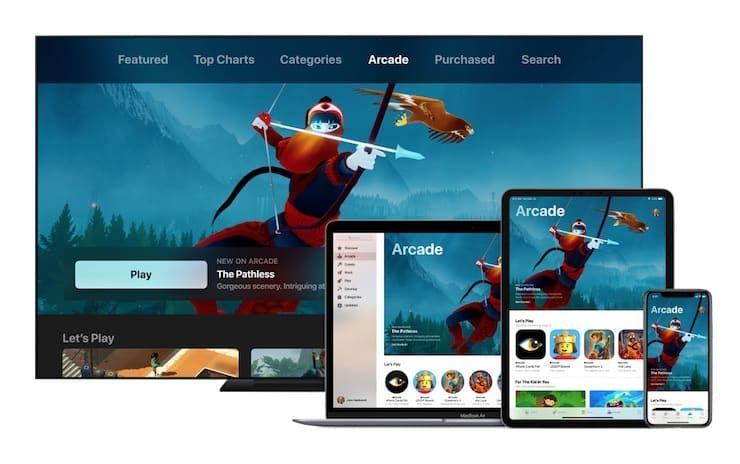 Что такое Эпл Аркада (Apple Arcade)?