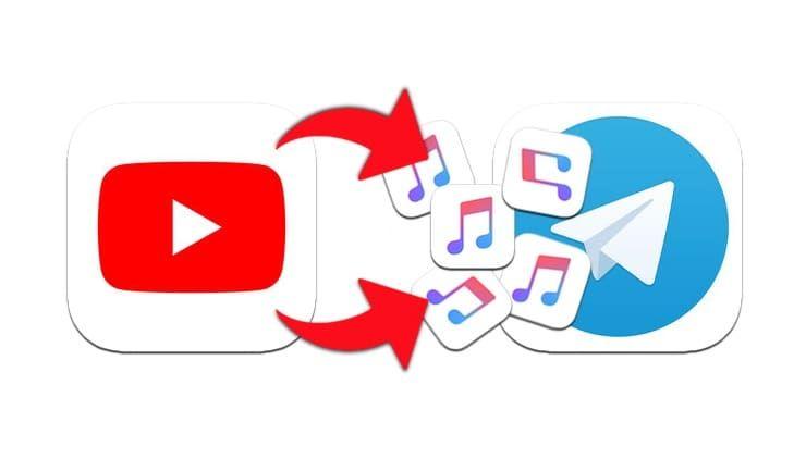 Как скачать аудио (песню, звук) из видео на YouTube в Telegram на iPhone, Android или компьютер