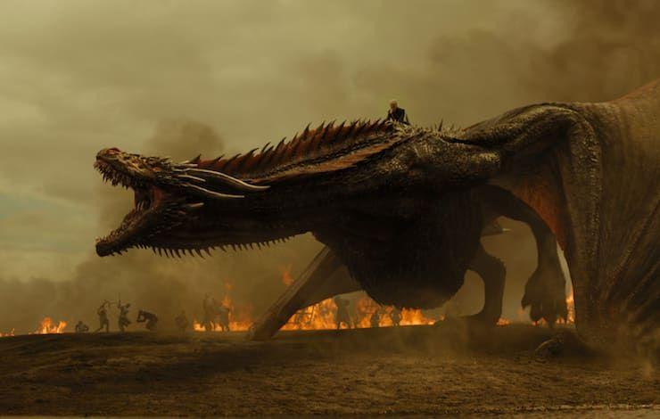 Драконы из Игры престолов