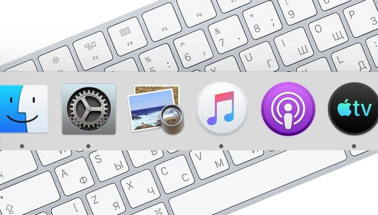 Как вызывать и работать с Dock в macOS при помощи горячих клавиш