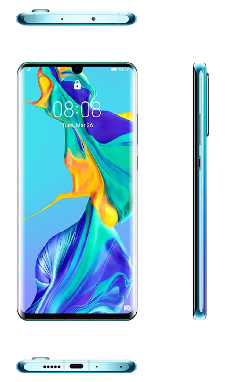 Обзор Huawei P30 Pro - дизайн