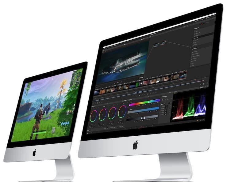 Производительность iMac 2019