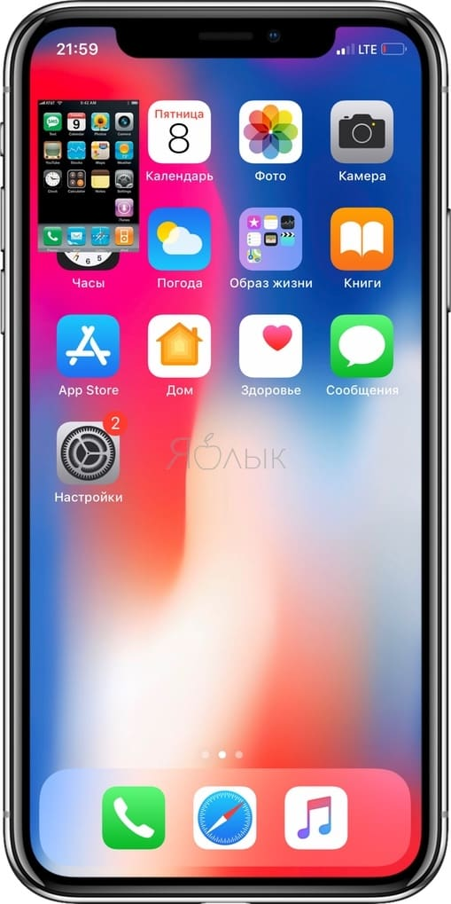 На экране iPhone XS Max помещается 21 экран iPhone 2G