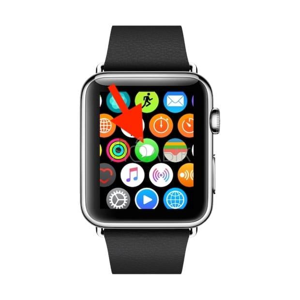 Приложение Сообщения Apple Watch