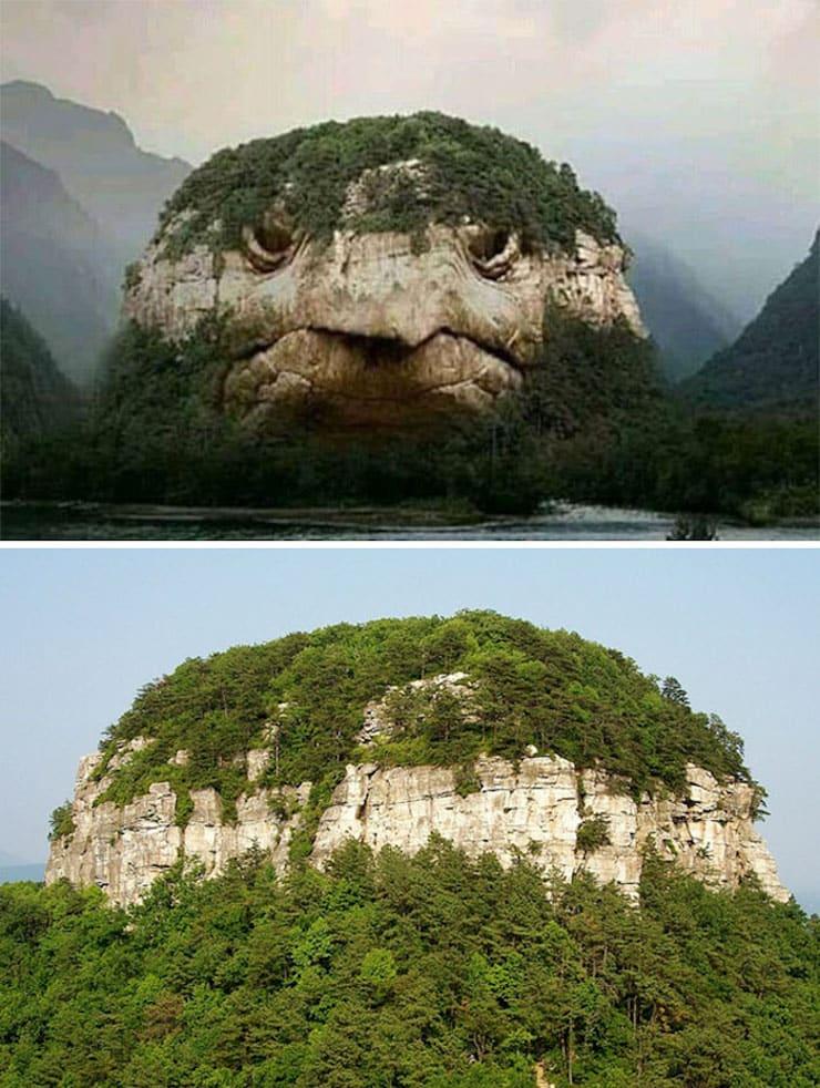 Гора-черепаха