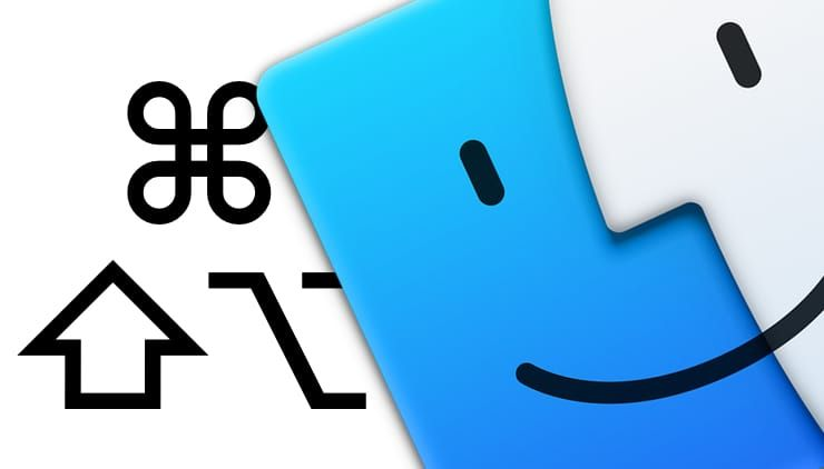 горячие клавиши (клавиатурные сокращения) Finder в macOS