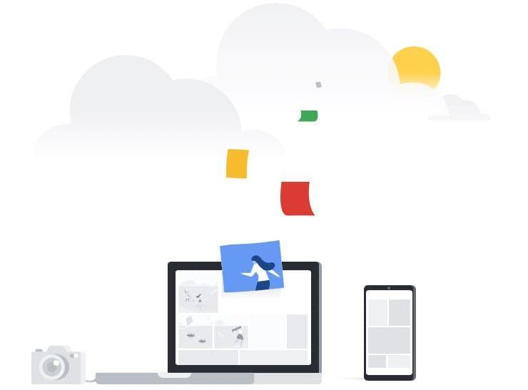 Кроссплатформенная поддержка Google Фото