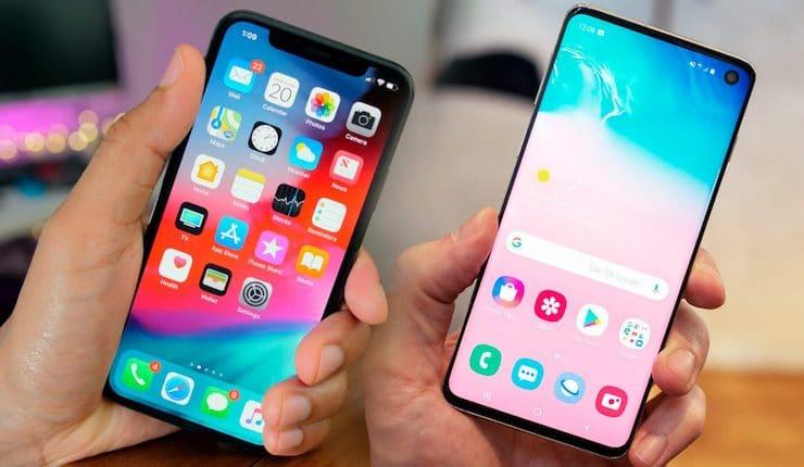 Сравнение iPhone XS и Samsung Galaxy S10: в чем отличия