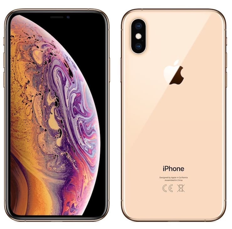 Дизайн Galaxy S10 и iPhone XS
