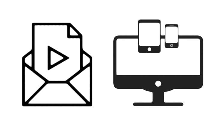 Как отправить большое видео с iPhone, iPad, Android или компьютера
