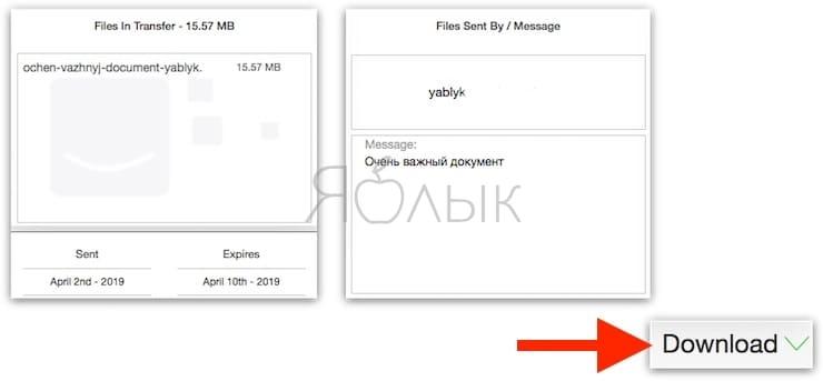 SendTransfer - облачный сервис, позволяющий легко делиться файлами между iPhone, Android, Mac и Windows