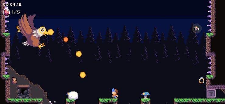 Обзор игры Daggerhood для iPhone и iPad