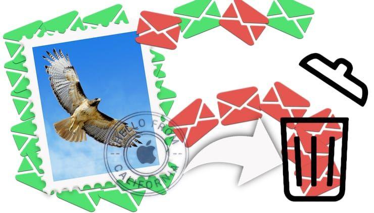 Как автоматически удалять определенные входящие e-mail письма в Почте на Mac (macOS)