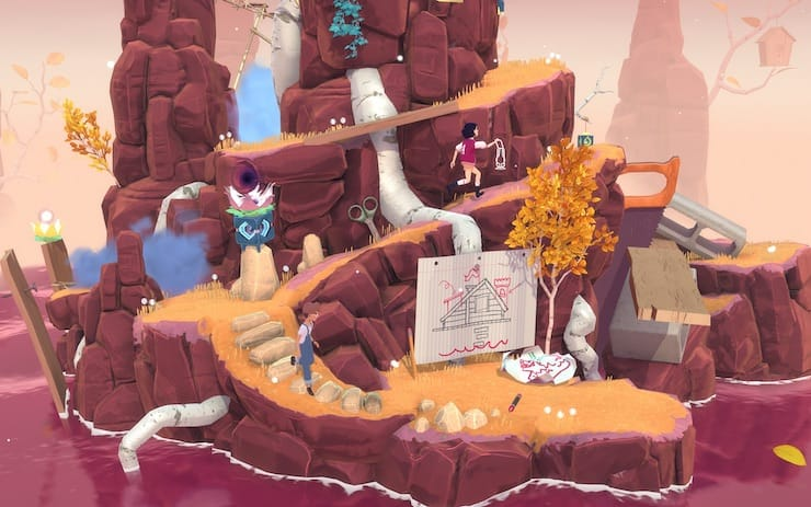 Обзор игры The Gardens Between для iPhone, iPad и Mac