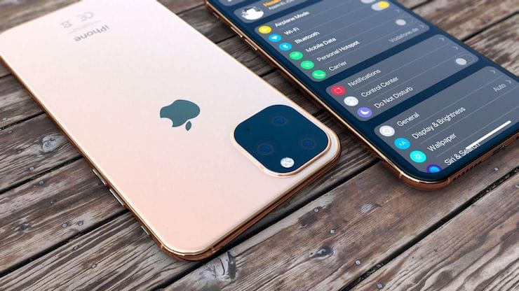 iPhone 11 дизайн