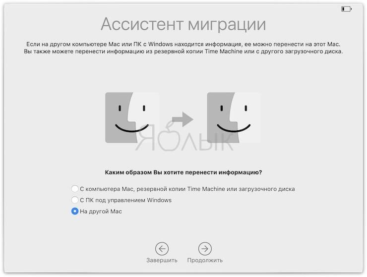 Как перенести данные со старого Mac или Windows на новый Mac