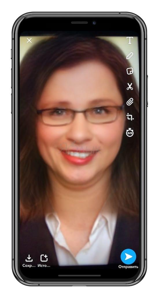 Как менять пол в Snapchat на фото и видео