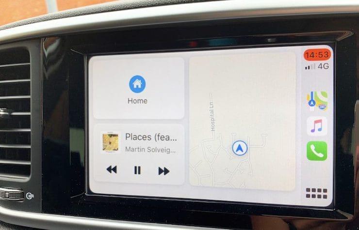 Обзор CarPlay в iOS 13