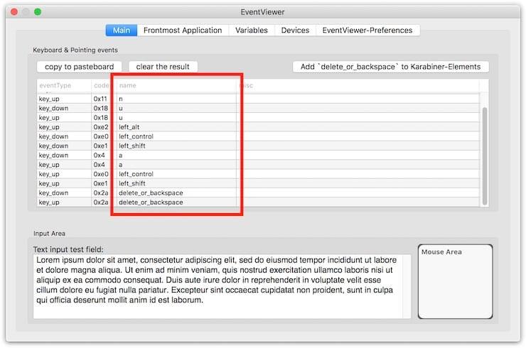 Karabiner-Elements – переназначение любых клавиш на Mac