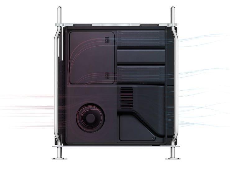 Система охлаждения Mac Pro 2019