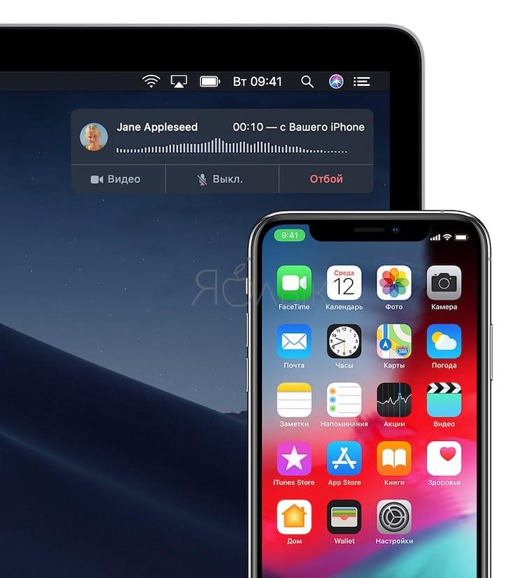 «iPhone (сотовые вызовы)»