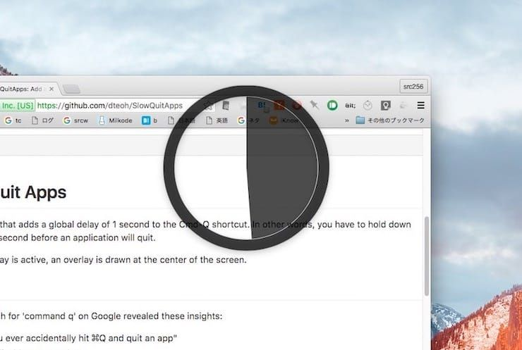 SlowQuitApps – утилита, запрещающая случайное закрытие активного приложения на Mac
