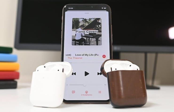 Как подключить двое наушников AirPods к одному iPhone или iPad: 2 способа