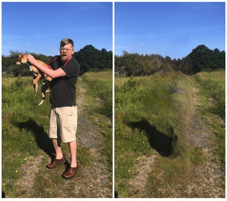 Как удалить человека на фото при помощи приложения Bye Bye Camera