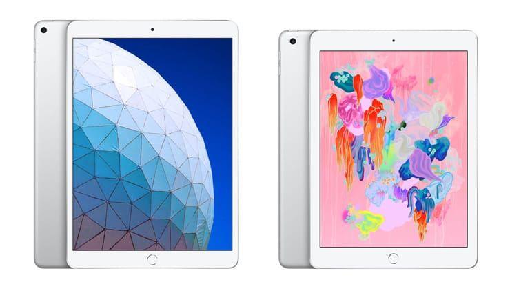 Сравнение iPad Air 3 (2019) и iPad 6 (2018) – какой планшет купить