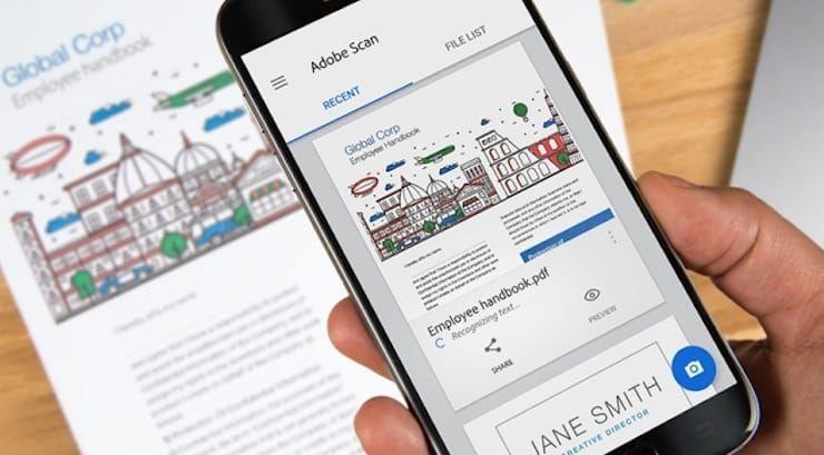 Сканер и распознавание текста для iPhone, Android и компьютера бесплатно
