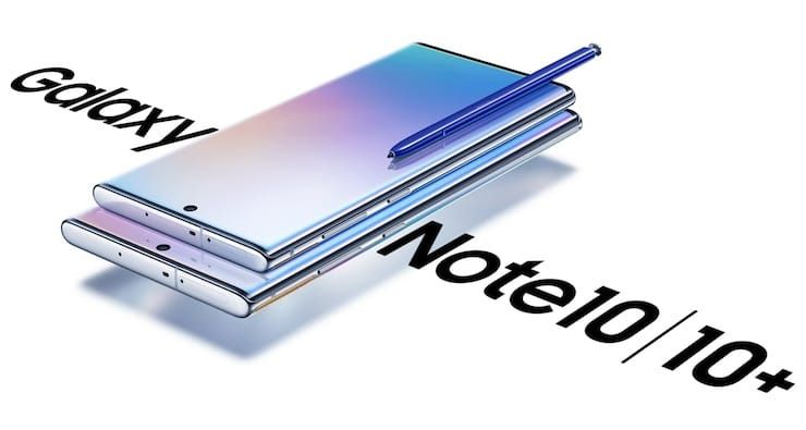 Сравнение Galaxy Note 10 и Galaxy Note 10 Plus