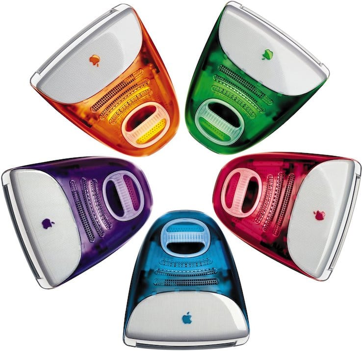 Первые iMac