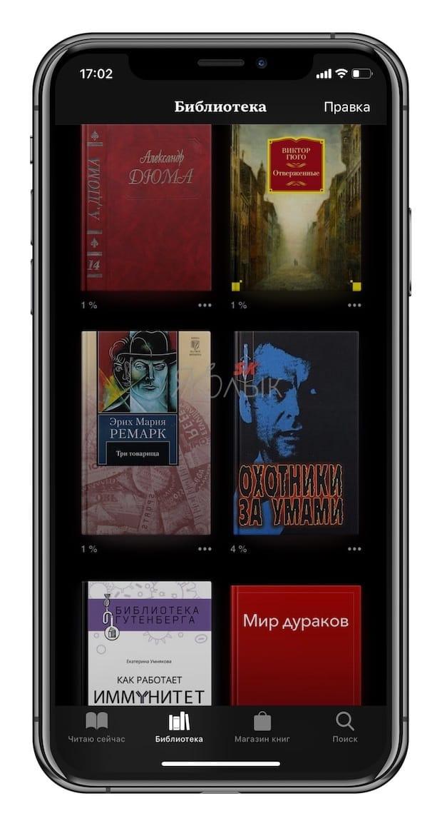 Как закачать книги на iPhone или iPad бесплатно