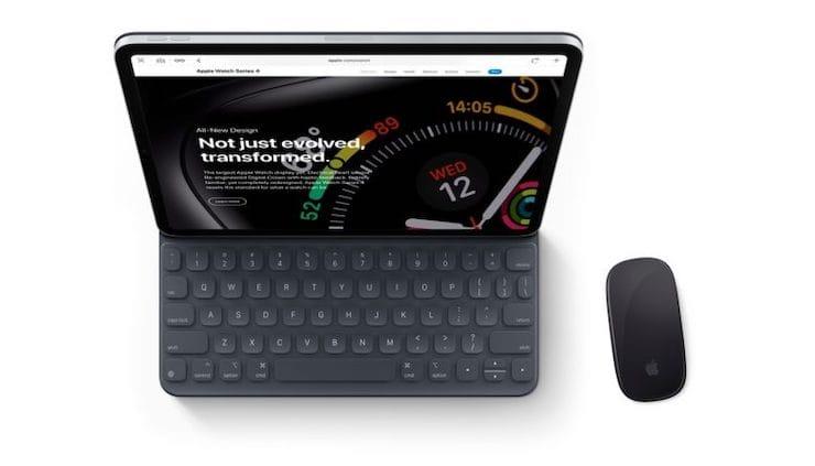 Как имитировать щелчок правой кнопкой мыши на iPad для вызова различных контекстных меню