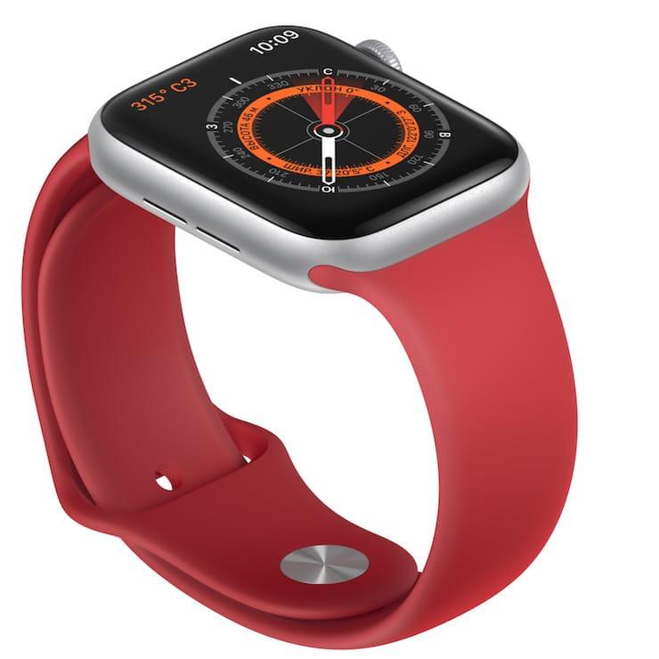 Компас Apple Watch Series 5