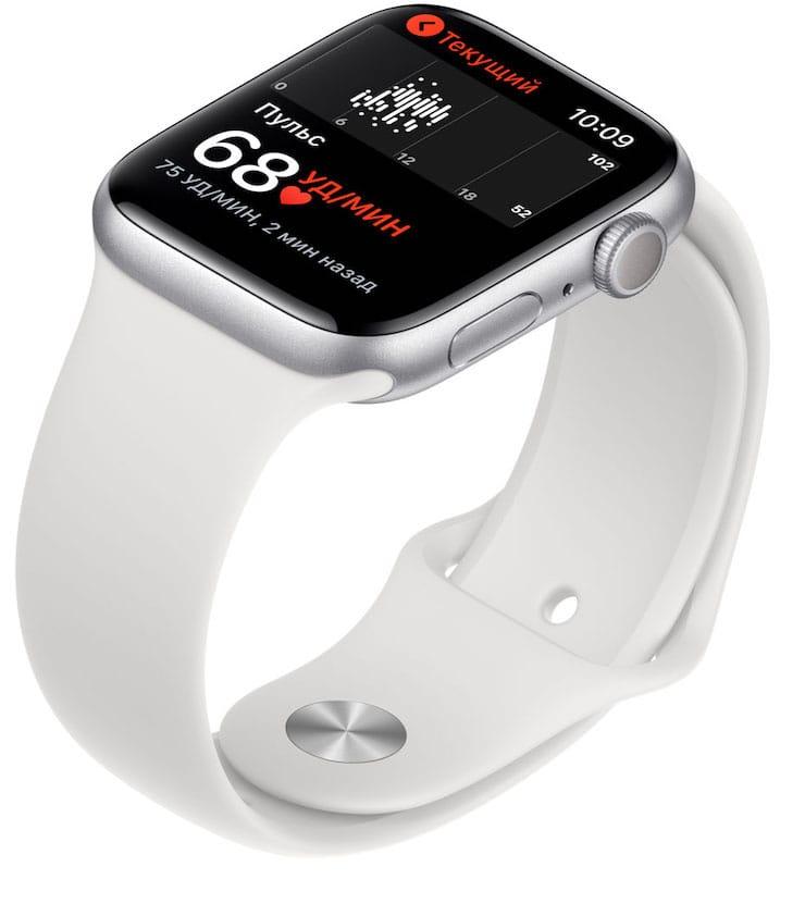 Функции Apple Watch Series 5