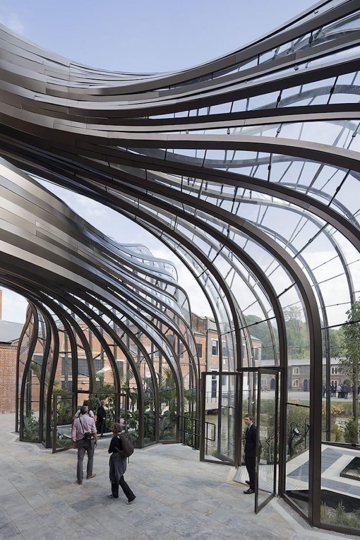 Превращение бумажной фабрики в винокуренный завод, Великобритания, Хэмпшир